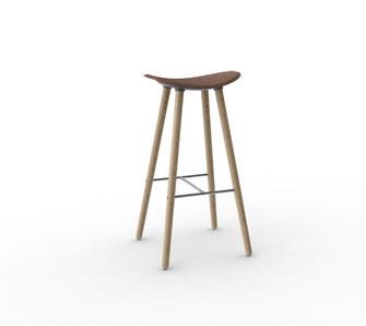 coma wood taburete Enea
