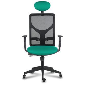 Cami silla de oficina ergonómica con cabezal hergosilleria