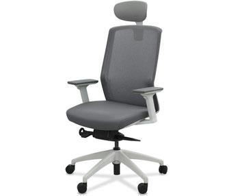 silla ergonómica de oficina con cabezal zen