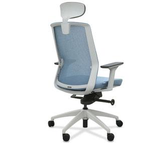 silla de oficina ergonómica con cabezal zen