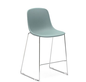 Pure Loop Kitchen Stool Tapizado