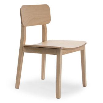 Paola Casual Solutions silla de comedor cocina restaurante madera