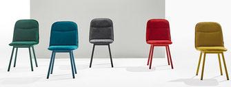 Köln metal silla moderna de comedor mobliberica
