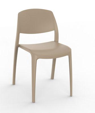 smart resol silla de polipropileno para interior y exterior