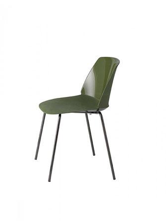 Classy silla de interior y exterior metalmobil et al