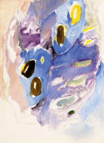 "Leopold Ganzer, ""02-08-06"", 1995, Aquarell auf Papier, 65 x 47 cm"