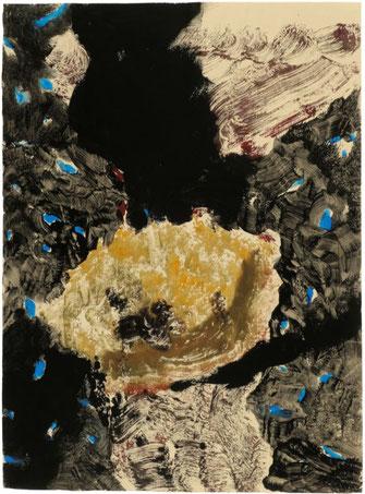 "Leopold Ganzer, ""02-05-27"", 1989, Aquarell auf Papier, 64,5 x 47,5 cm"