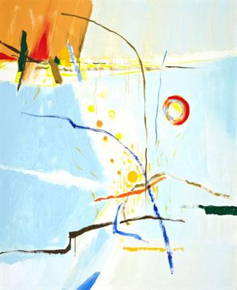 "Leopold Ganzer, ""11-16-54"", 2003, Acryl auf Leinwand, 110 x 90 cm"