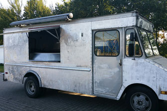 Fahrzeugbau, umbau zum Food Truck, gebrauchte Verkaufsfahrzege