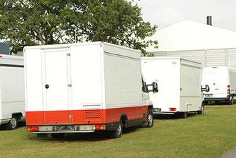 Gebrauchte Verkaufsfahrzeuge, Verkaufsmobile, Verkaufswagen, Verkaufsanhänger von Helmig, Food Truck Hersteller