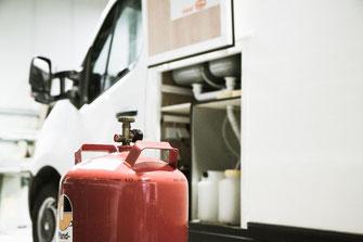 Gasprüfung, Ibbenbüren, Fahrzeug, Gasgrill, Gasgriedelplatte
