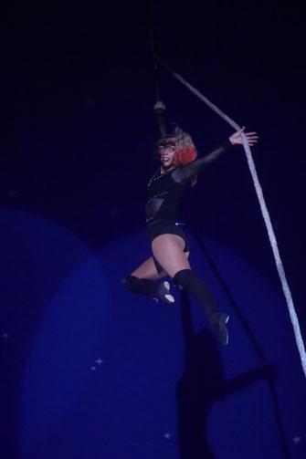 Die Hexe am Seil