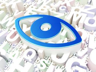 Symbol für Videoüberwachungen auf der Homepage von SafeTech