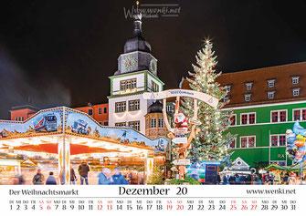 Schillers Weihnacht in Rudolstadt, Heimat ist Rudolstadt, Wenki, Thüringen