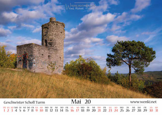 Schollturm, Bismarcktrum, Rudolstadt, Schwarza, Zeigerheim, Thüringen
