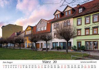 Rudolstadt, Thürignen, am Anger, 07407, 03672, Heimat ist Rudolstadt, Kalender