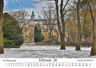 Heidecksburg, Heinrich Heinepark, Rudolstadt, Schwarza, Thüringen