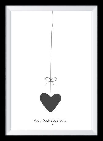 Typografie Poster Inspiration - Do what you love