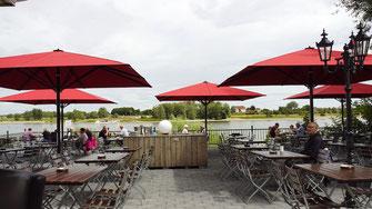 Sonnenschutz Gastronomie Terrasse