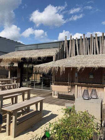 Beachbar Terrasse