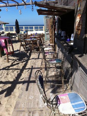 Strand Terrasse Gastronomie
