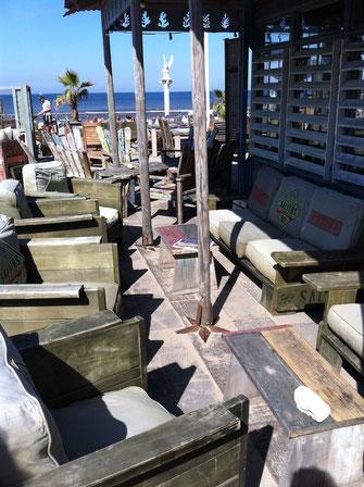 Beachbar Gastronomie