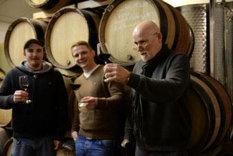 Weingut Deimel in der Pfalz - Weinprobe