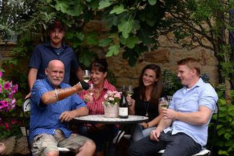 Weingut Deimel in der Pfalz - Familie
