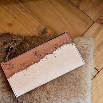 猪革の長財布 ¥25300