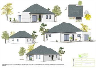 Maisons Kernest votre constructeur plan maison 4 chambres etage