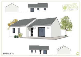 La construction avec Maisons Kernest: votre constructeur maison pierric (44290)
