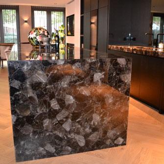 smokey-quartz-precious-stone-keuken