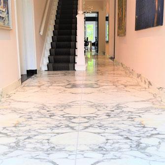 arabescato-marmer interieur