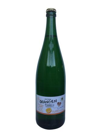 Orangen Punsch, PunschZeit, Wien, original mit Wein