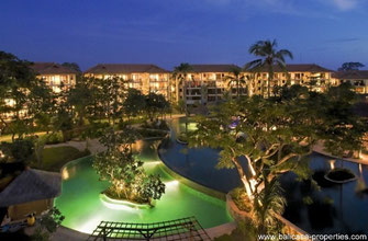 NUSA DUA APARTMENT IN LUXURIOUS HOTEL COMPLEX.