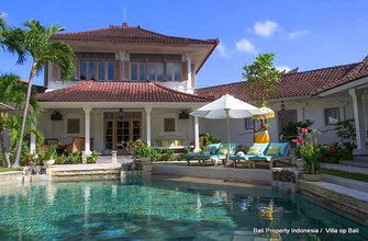 Private hotel villa for sale located in Seminyak