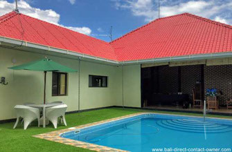 West Bali property for sale by owner