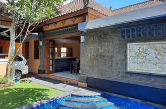 Sanur 3 bedroom house for sale in the Sekuta area, freehold.