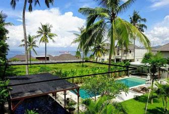 East Bali land for sale. Padang Bai Freehold plot of land.