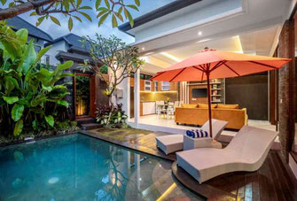 3 bedroom property on offer for sale including a rental license, a solid investment with a good return. Located in the heart of Seminyak