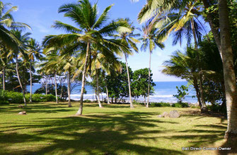 Land for sale West Bali, absolute beachfront