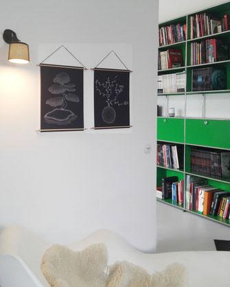 Décoration ikken - Affiches Bonsaï & Sophora