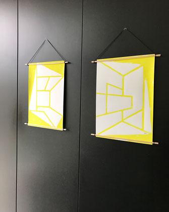 Décoration - ikken Affiches Archi-in & out - jaune