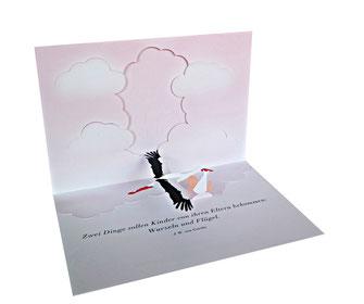 Glückwunschkarten zur Geburt
