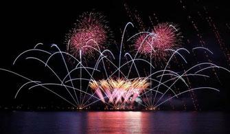 10万5千人が来場した今年の花火大会