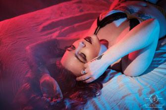 photo boudoir ambiance acidulée