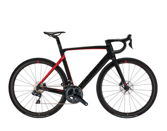 Cento10PRO D9 BLACK / RED MATT