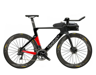 WILIER TURBINE T8 BLACK / RED, MATT & GLOSSY