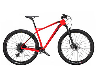 101X X15 RED BLACK; GLOSSY