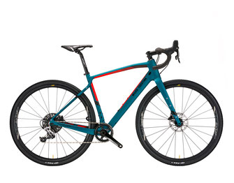 JENA J8 BLUE / RED MATT